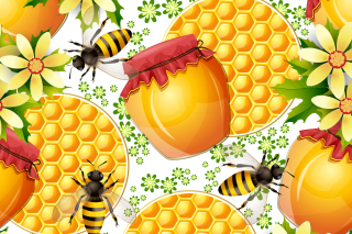 Honey Search Background for Android, iPhone and iPad