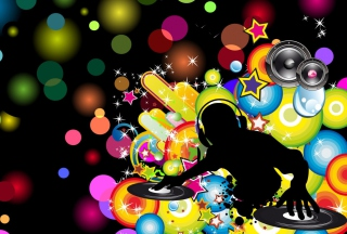 Free Dj Abstract Picture for Android, iPhone and iPad