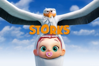 Free Storks HD Picture for Android, iPhone and iPad