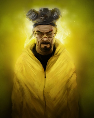 Breaking Bad Art Wallpaper for Nokia C2-03