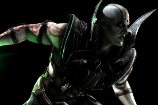 Quan Chi in Mortal Kombat Background for Android, iPhone and iPad