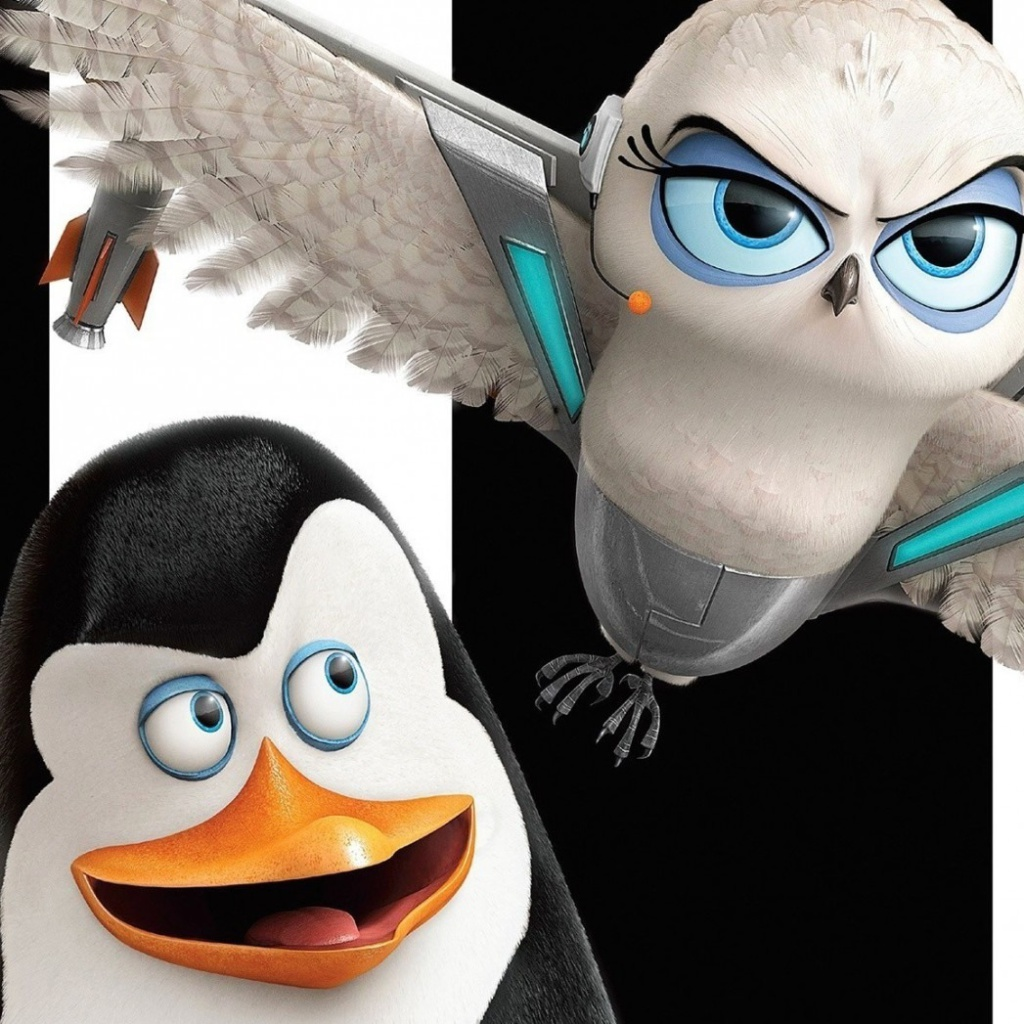 Screenshot №1 pro téma Penguins of Madagascar 1024x1024