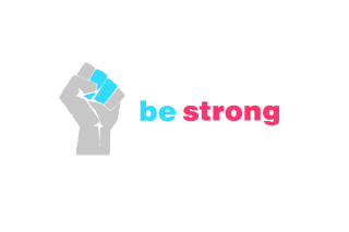 Be Strong Motivation Wallpaper for Android, iPhone and iPad