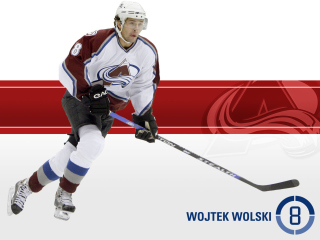 Free Colorado Avalanche Wojtek Wolski Picture for Android, iPhone and iPad