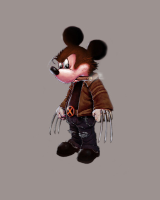 Mickey Wolverine Mouse Picture for Nokia C5-06