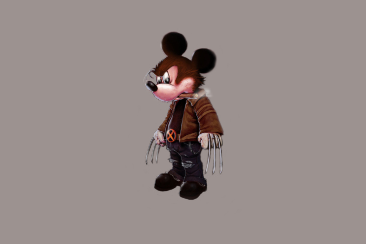 Screenshot №1 pro téma Mickey Wolverine Mouse