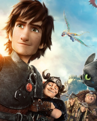 How To Train Your Dragon 2 papel de parede para celular para Nokia X6