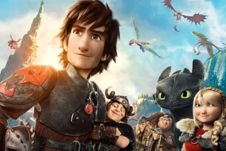 Kostenloses How To Train Your Dragon 2 Wallpaper für Android 320x480