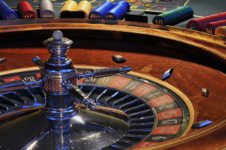 Roulette in Casino not Online Game Background for Android, iPhone and iPad