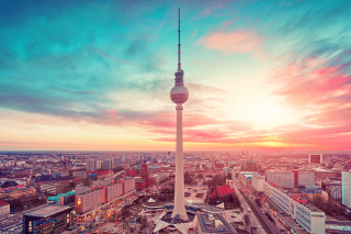 Free Berlin TV Tower Berliner Fernsehturm Picture for Android, iPhone and iPad