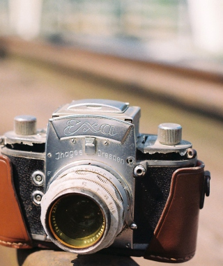 Vintage Photo Camera sfondi gratuiti per iPhone 4S