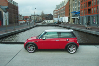 Red Mini Cooper Holland Wallpaper for Android, iPhone and iPad