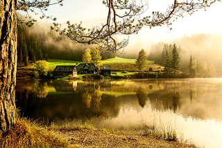 Free Beautiful Countryside Scenery Picture for Android, iPhone and iPad