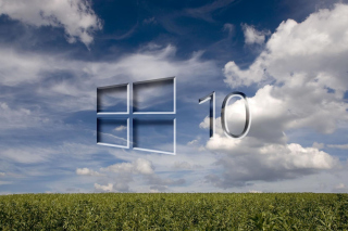 Windows 10 Grass Field Background for Widescreen Desktop PC 1920x1080 Full HD