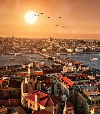 Istanbul Background for iPhone 4S