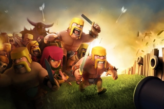 Clash of Clans Background for Android, iPhone and iPad
