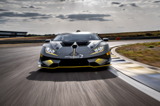 Lamborghini Huracan Super Trofeo EVO Wallpaper for Samsung Galaxy S5