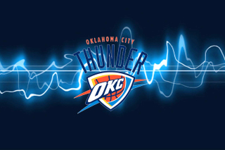 Free Oklahoma City Thunder Logo 3D Picture for Android, iPhone and iPad