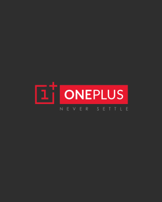 Never Settle OnePlus sfondi gratuiti per iPhone 4S