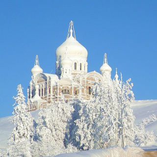 Winter Church - Fondos de pantalla gratis para 1024x1024