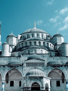 Screenshot №1 pro téma Sultan Ahmed Mosque in Istanbul 240x320