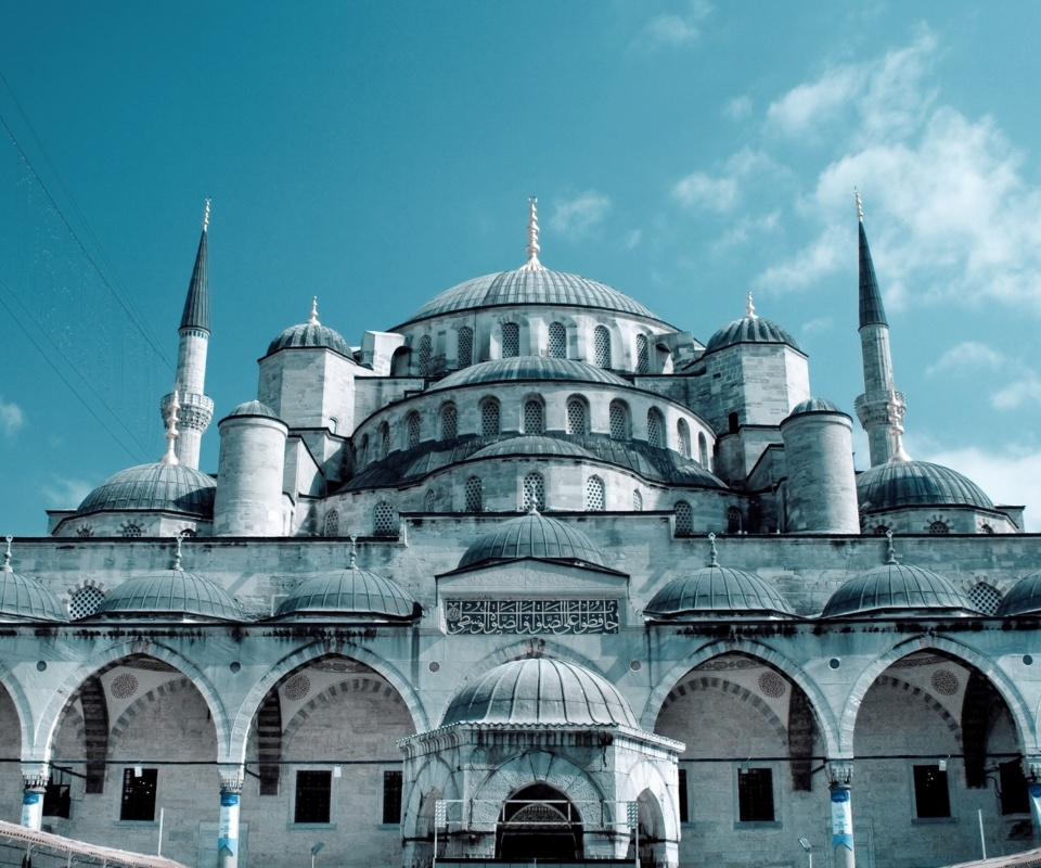 Screenshot №1 pro téma Sultan Ahmed Mosque in Istanbul 960x800