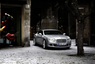 2011 Bentley Continental Gt Background for 1440x1280