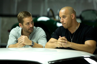 Paul Walker and Vin Diesel Background for Android, iPhone and iPad