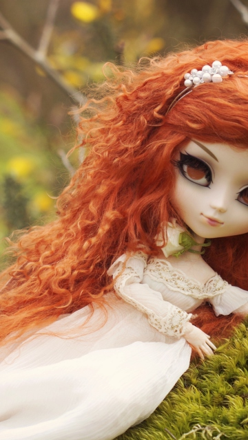 Screenshot №1 pro téma Curly Redhead Doll 360x640