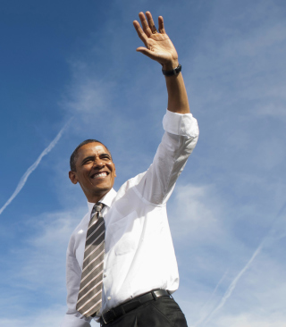 Barack Obama Wallpaper for Nokia X1-01