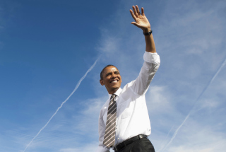 Free Barack Obama Picture for Fullscreen Desktop 1280x960