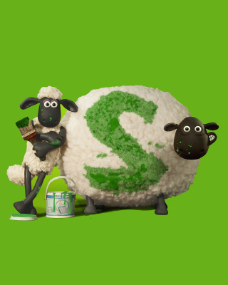 Shaun the Sheep sfondi gratuiti per iPhone 4S