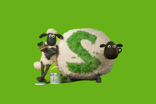 Kostenloses Shaun the Sheep Wallpaper für Android 320x480