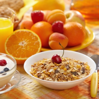 Healthy breakfast nutrition sfondi gratuiti per iPad 3