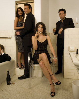 How I Met Your Mother HD Pic sfondi gratuiti per iPhone 6 Plus