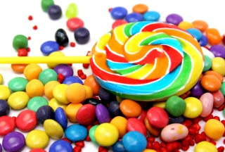 Colorful Candies Wallpaper for Android, iPhone and iPad