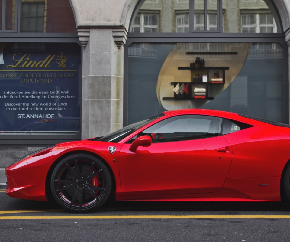 Ferrari 458 screenshot #1 960x800