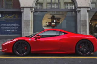Ferrari 458 Background for Android, iPhone and iPad