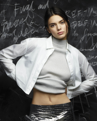 Kendall Jenner Model Background for 240x320