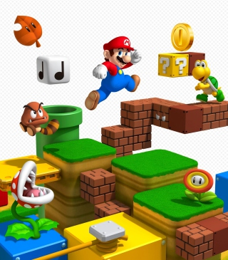 Super Mario 3D Picture for Nokia C2-03