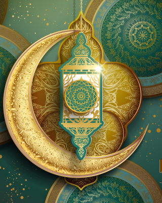Ramadan Kareem Background for Nokia Asha 300