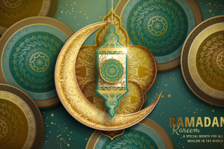 Ramadan Kareem Background for Widescreen Desktop PC 1280x800