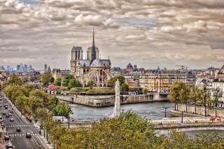 Notre dame de Paris Wallpaper for Android, iPhone and iPad