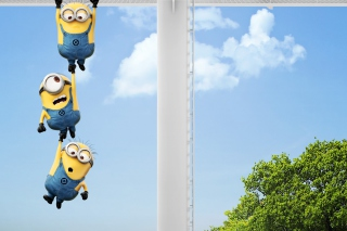 2013 Despicable Me 2 Minions Background for Android, iPhone and iPad