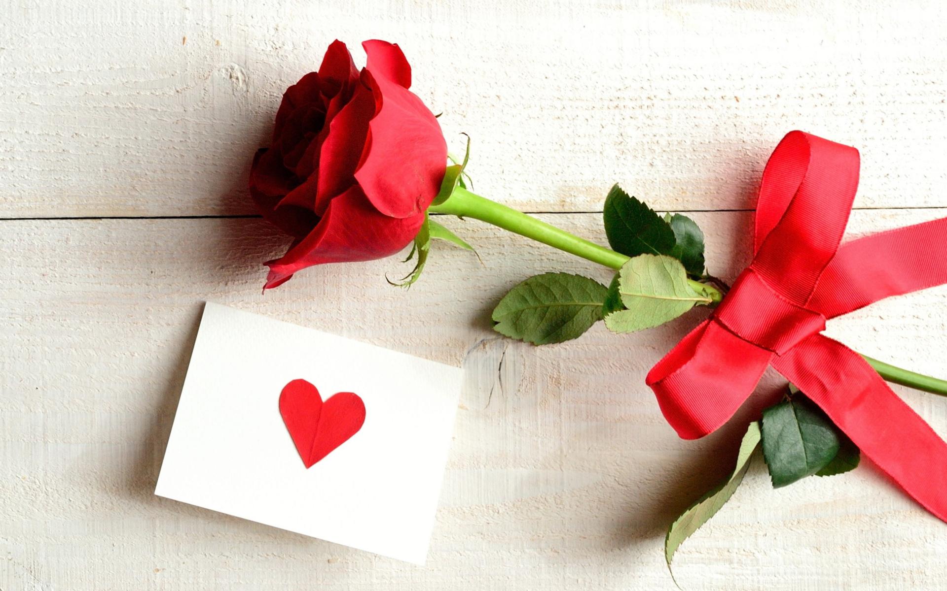Цветы сердца открытки
