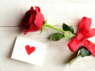 Rose With Letter for Nokia Asha 200