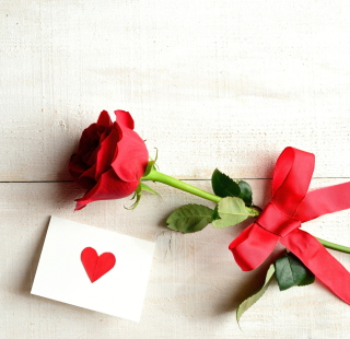 Free Rose With Letter Picture for LG KP105