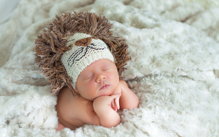 Sleeping Baby Background for Android, iPhone and iPad