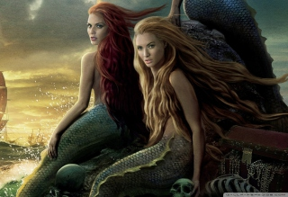 Pirates Of The Caribbean Mermaids papel de parede para celular