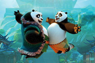 Kung Fu Panda 3 DreamWorks sfondi gratuiti per cellulari Android, iPhone, iPad e desktop